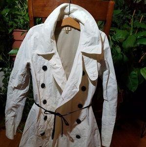 Wilson Trench Coat Off White Size Medium